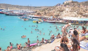 Almost 266,000 tourists visited the Maltese Islands in June