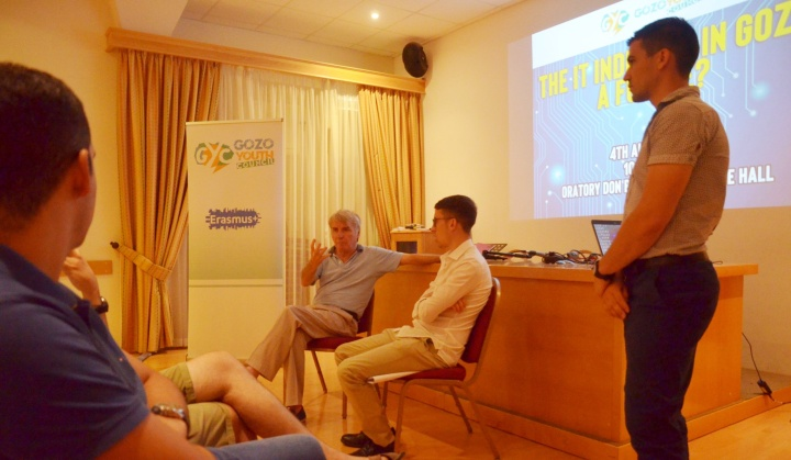 Debate on the ICT industry in Gozo organised by Gozo Youth Council