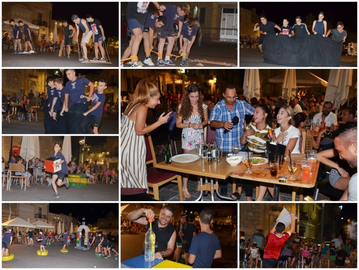 Giochi - it's a knockout summer games get underway at Xaghra