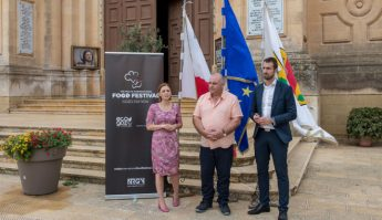 Official launch of this weekend's International Food Festival in Xewkija