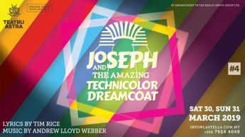 Joseph and the Amazing Technicolour Dreamcoat set for the Astra
