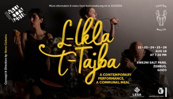 L-Ikla t-tajba - theatre and banquet starts Thursday at Xwejni Saltpans