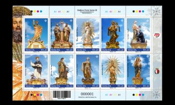 Maltese Festa Series II - New MaltaPost stamp issue