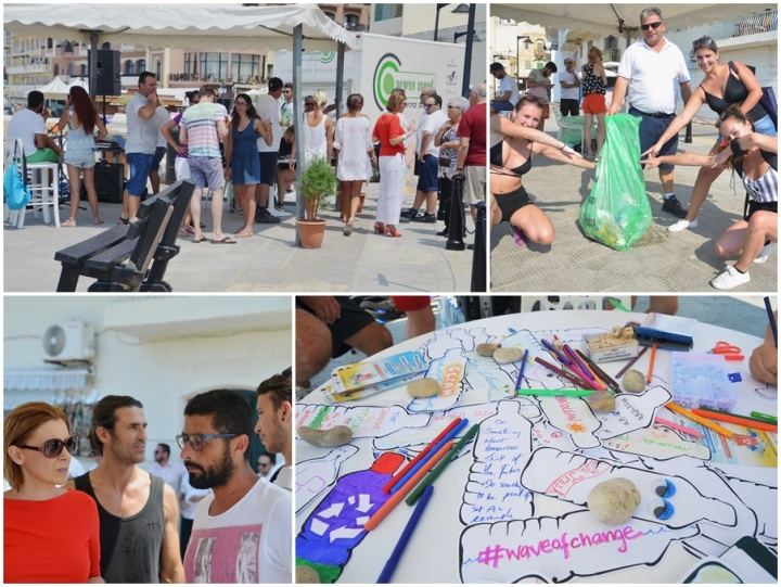 #Wave of Change - clean-up event hailed as a great success
