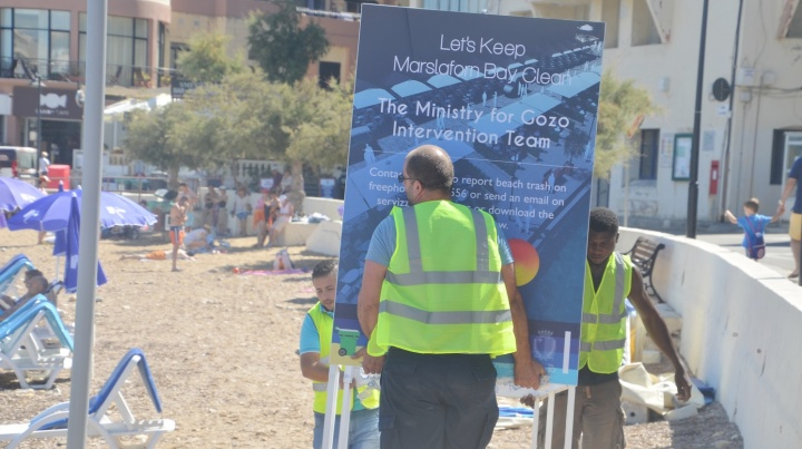 #Wave of Change - Clean-up event in Marsalforn on Sunday