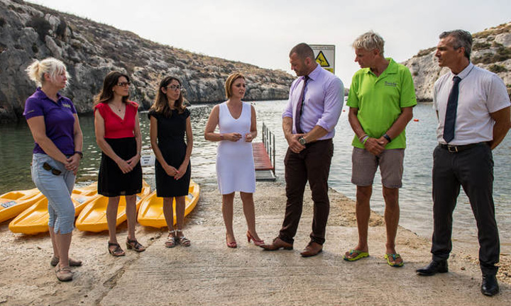 Mgarr ix-Xini awarded status of White Flag Beach