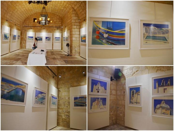 Nicola Vassallo exhibition features chapels, boats and Gozo's salt pans