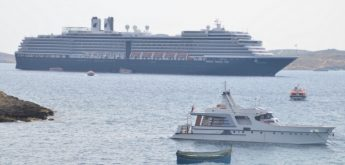 MS Oosterdam stops off at Mgarr Harbour on day visit to Gozo