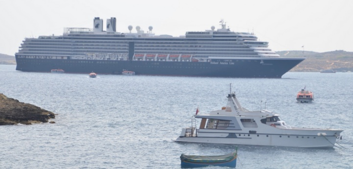 Fewer cruise passengers visiting Gozo in the third quarter
