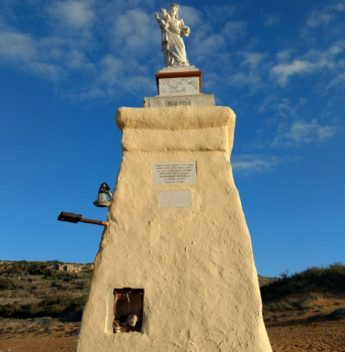 Our Lady of Hope statue in Ramla Bay, Gozo, to be restored