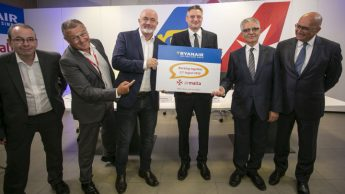 Ryanair website now selling Air Malta flights in new partnership