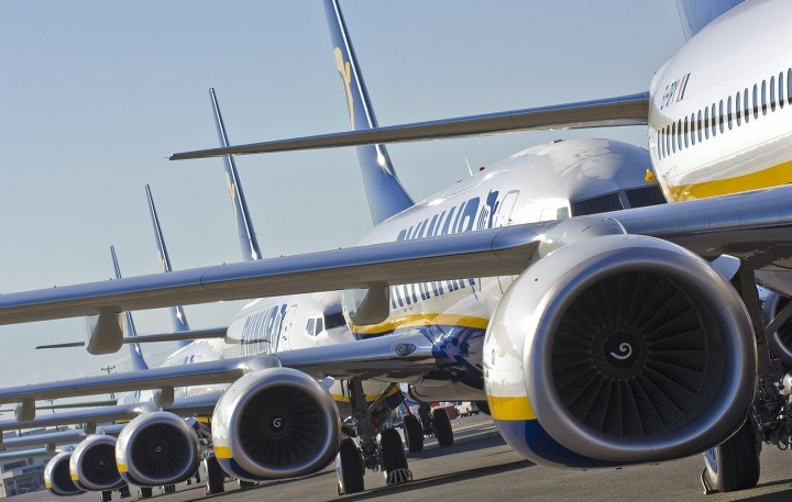 Ryanair one-day seat sale with up to 20% off across the network