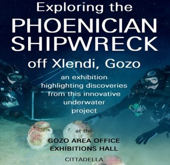 Exploring the Phoenician Shipwreck off Xlendi - Exhibition