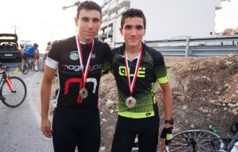 Silver medals in cycling for the Gozitan Sultana brothers