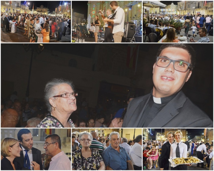 Xaghra celebrations for the first Solemn High Mass led by Fr Joseph Hili