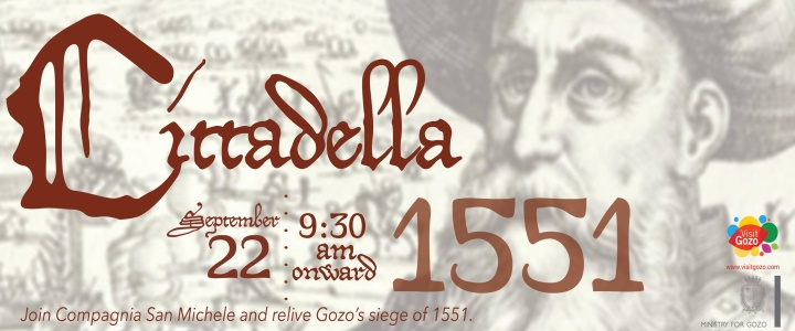 Cittadella 1551 - A chance to relive this episode from Gozo's history