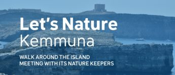 FoE `Let's Nature' walks in Gozo's Natura 2000 sites focuses on Comino