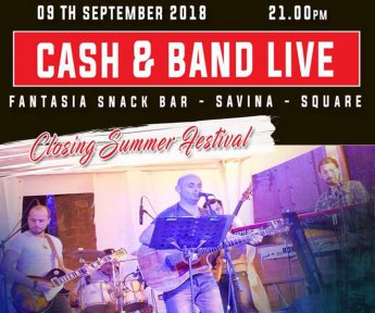 Fantasia Snack Bar `Closing Summer Festival' in aid of Puttinu Cares