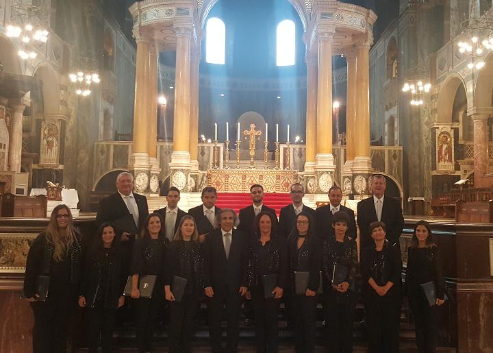 Gaulitanus Choir returns from successful concert tour in London