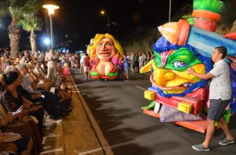 ozo Summer Carnival brings spectacle of colour to Mgarr waterfront