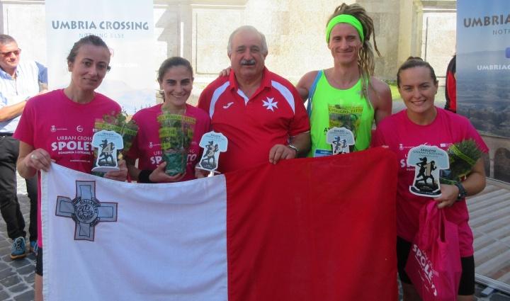 Gozitan athletes achieve great success in Spoleto event
