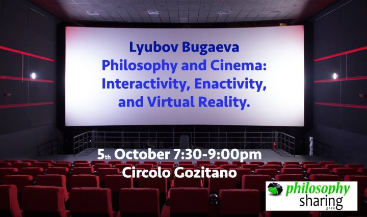 Philosophy and Cinema: Interactivity, Enactivity and Virtual Reality