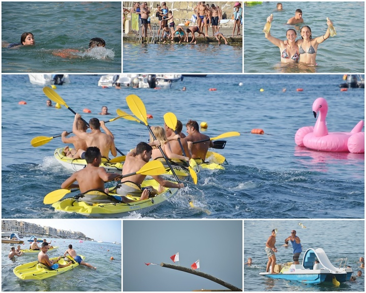 Marsalforn Watersports provides fun and entertainment with the Gostra