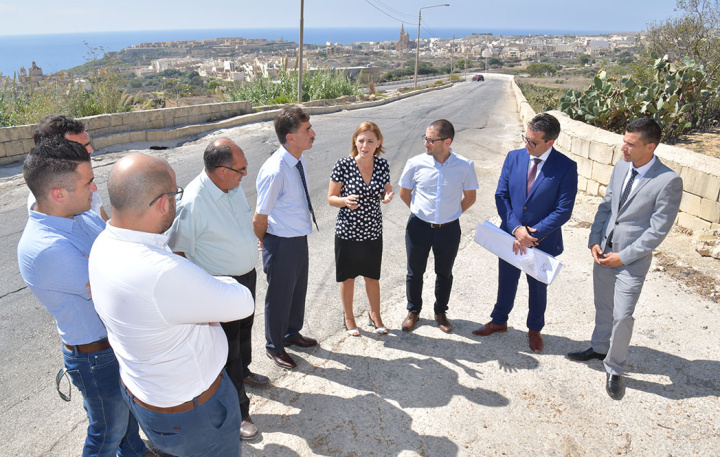 Work on Mgarr Road in Nadur to get underway from Monday