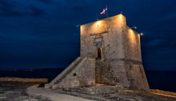 New lighting system inaugurated at Mgarr ix-Xini coastal tower