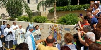 Mosaic of Madonna ta' Pinu inaugurated at Nazareth Sanctuary