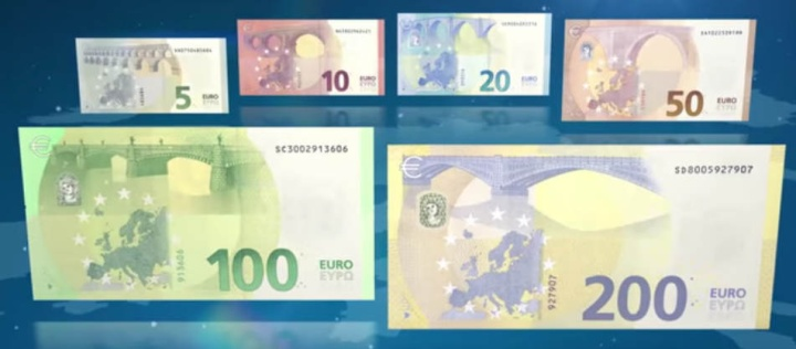 New €100 and €200 banknotes to start circulating May 2019
