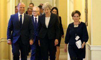 Prime Minister discusses Brexit with UK Prime Minister in London