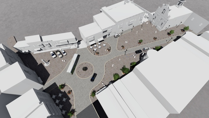 Work on embellishment of St Francis Square due to start next week