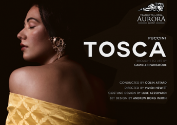 New artistic partnerships announced for Tosca at the Aurora