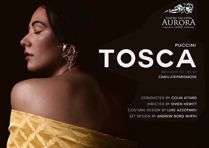 Full-house for Aurora's new Tosca production on Saturday in Gozo