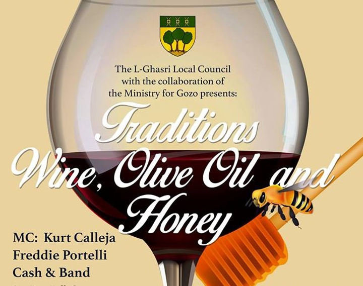 Enjoy a taste of Traditions: Wine, Olive Oil and Honey this Saturday