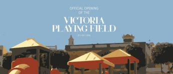 Victoria Playing Field's long awaited opening takes place next week