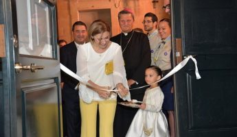 The Jesus of Nazareth Centre and night shelter opened in Xaghra