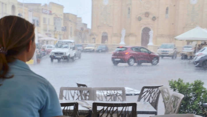 Malta rattled by 6 thunderstorms in January and almost 100mm of rain