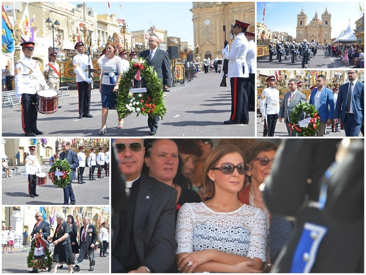 Two Victories of Malta - 1565 and 1943 commemorated in Xaghra ceremony