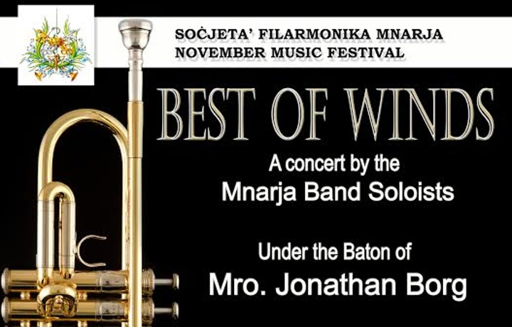 Mnarja Band and soloists - Best of Winds Concert in Nadur