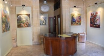 Blossom Gozo - Exhibition of oil paintings by Anastasia Pace
