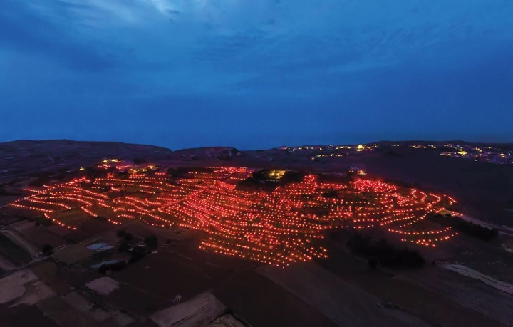 Fjakkolata and Symphony of Lights in Santa Lucija, Gozo