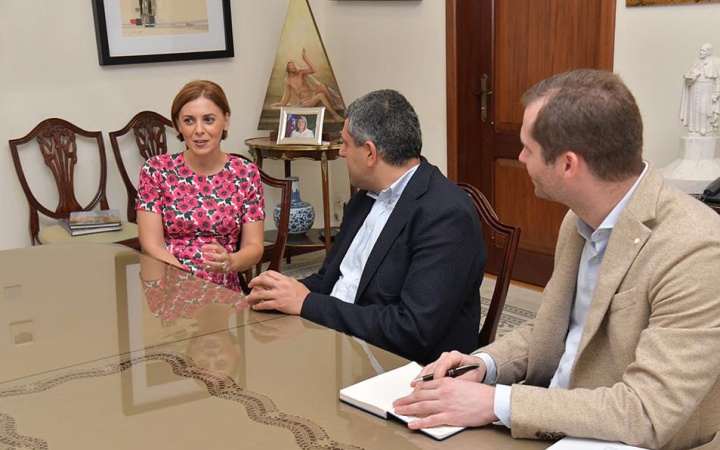 UNWTO Secretary General discusses tourism with the Gozo Minister