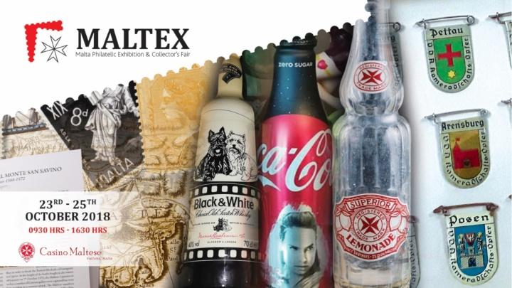 Maltex Philatelic Exhibition and Collectors' Fair next week in Valletta