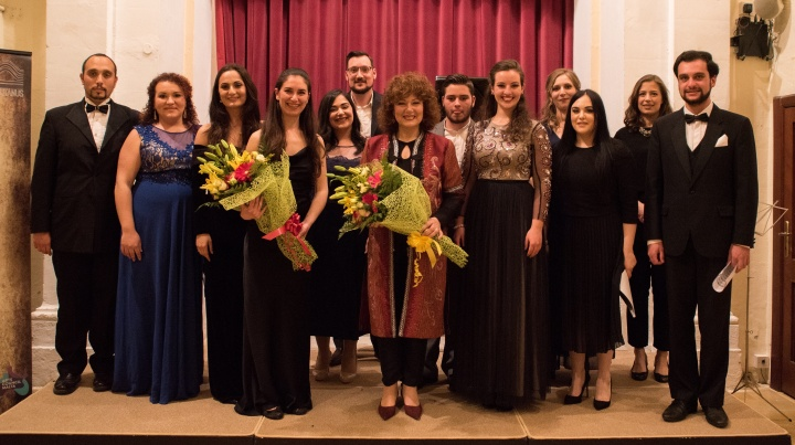 Vocal master classes with Miriam Gauci as part of Gaulitana