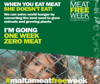Zero meat - Malta Meat Free Week challenge starts this Monday
