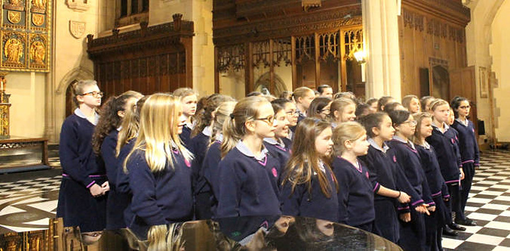 More House School Choir in Gozo for St John Paul II Feast celebration