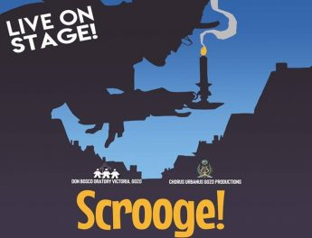 Scrooge! opens at the Don Bosco Oratory Theatre next week