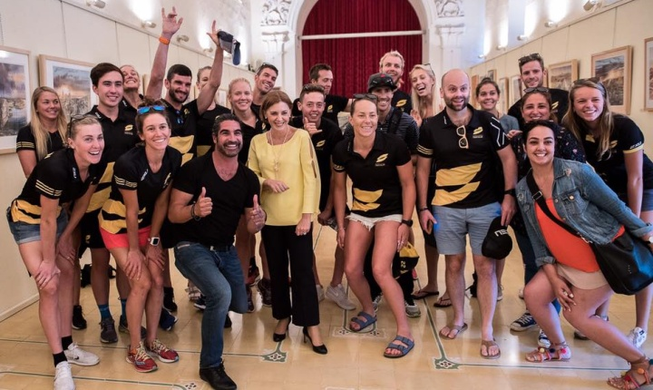 First ever Super League Triathlon is taking place in Malta.
